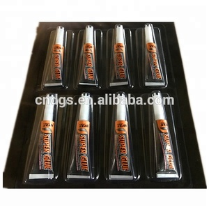 extra super power super glue in aluminum tubes