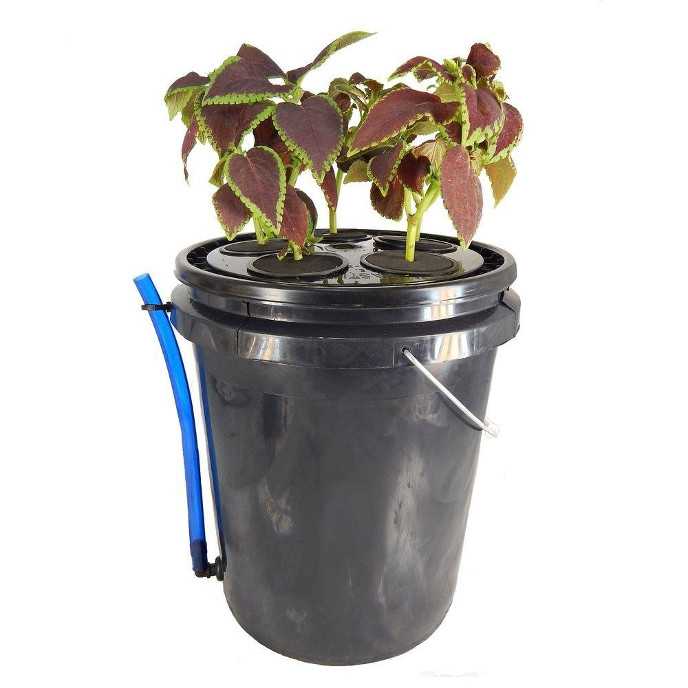 Viagrow 5-Site Aeroponic Vegetative Clone System, 5 gallon