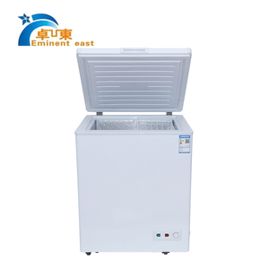BD- 109 220v Inside glass doors mini freezer for home and hotel