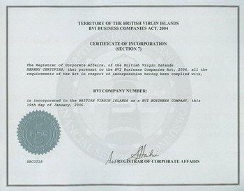 Cayman Islands Company Registered Number
