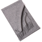 2019 Winter Men Stripe Knitted Cotton Cashmere Scarf Shawl Wrap Men Bufandas Scarf with Tassels