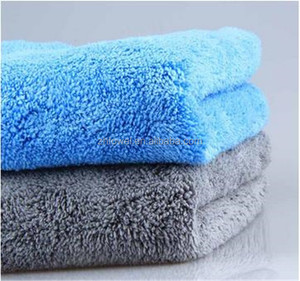 Ultra Thick Plush Buffing Microfiber Car Cleaning cloth super poly cloth