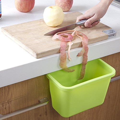 LILACORP Hanging Standing Kitchen Waste Bin Hanged Cupboard Door ECO PP Simple Garbage Bin random Color Dustbin Scrap Storage Box Waste Bin