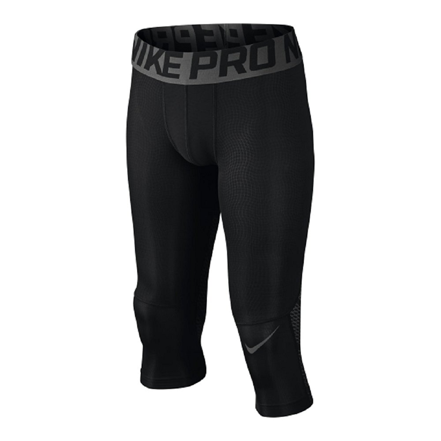 ba0dff488ed73 Get Quotations · Nike Boy's Pro Hypercool Three Quarter Compression Tights