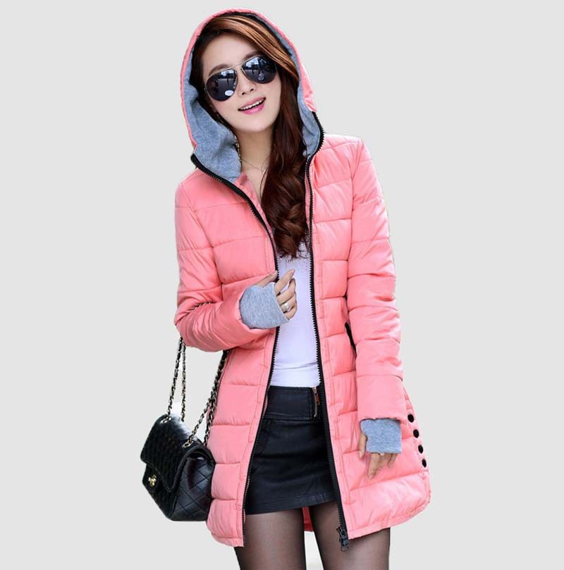 Womens plus size down coats
