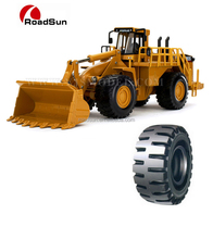 good quality OTR tire 33.25-35 E-3/L-3 DIRT N ROCK(S TREAD) for large loaders and scrapers pr.n