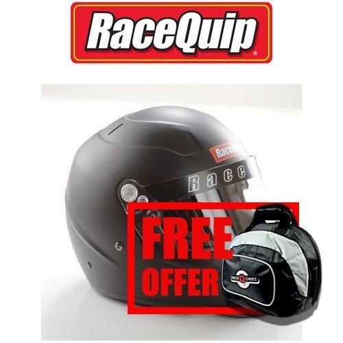 Free Deluxe Helmet Bag Included Zamp RZ-58 Snell SA2015 Helmet Matte Black X-Large