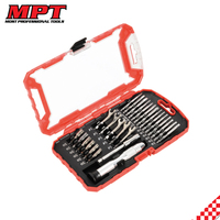 MPT Professional 27Pcs Ratchet Socket And Wrench Set