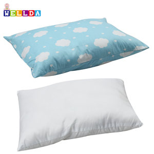 100% Cotton stock design Kids Toddler Pillow With Pillowcase