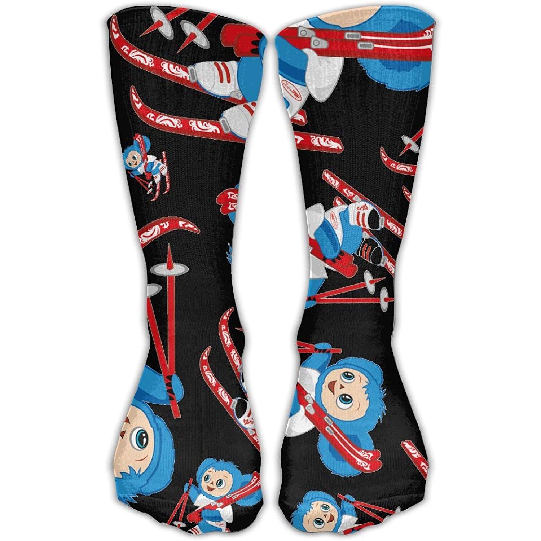 71f751065 Get Quotations · Monkeys Snow Women 3D Print Super Soft Tall Boot Socks  Mid-Calf Boot Athletic Socks
