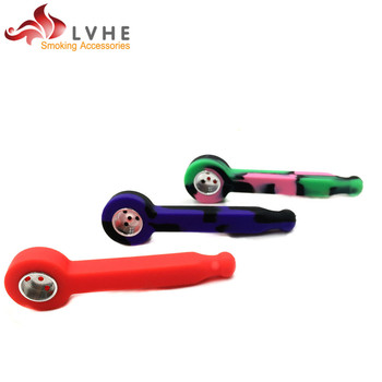 T344PM LVHE New Product Smoking Accessory Silicone Smoking Pipes