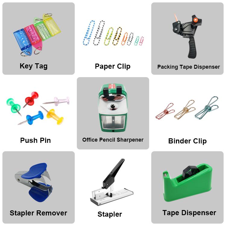 Kleurrijke papier clip push pin in bulk zonder magneet op verkoop