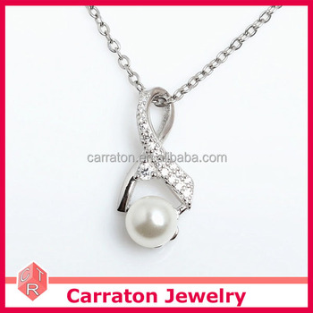 2017 latest ribbon freshwater pearl necklace 925 wholesale 2017 latest ribbon freshwater pearl necklace 925 wholesale sterling silver pendant customized jewelry aloadofball Gallery