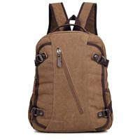 9037C New Unique Design Hiqh Quality Canvas Laptop Rucksack Fancy Backpack