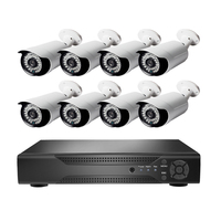 Cheap Price security camera system 8 channel dvr kit with 3.6mm lens