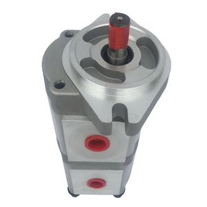 Group 33A double gear pump tandem gear pumps Hydraulic gear pump