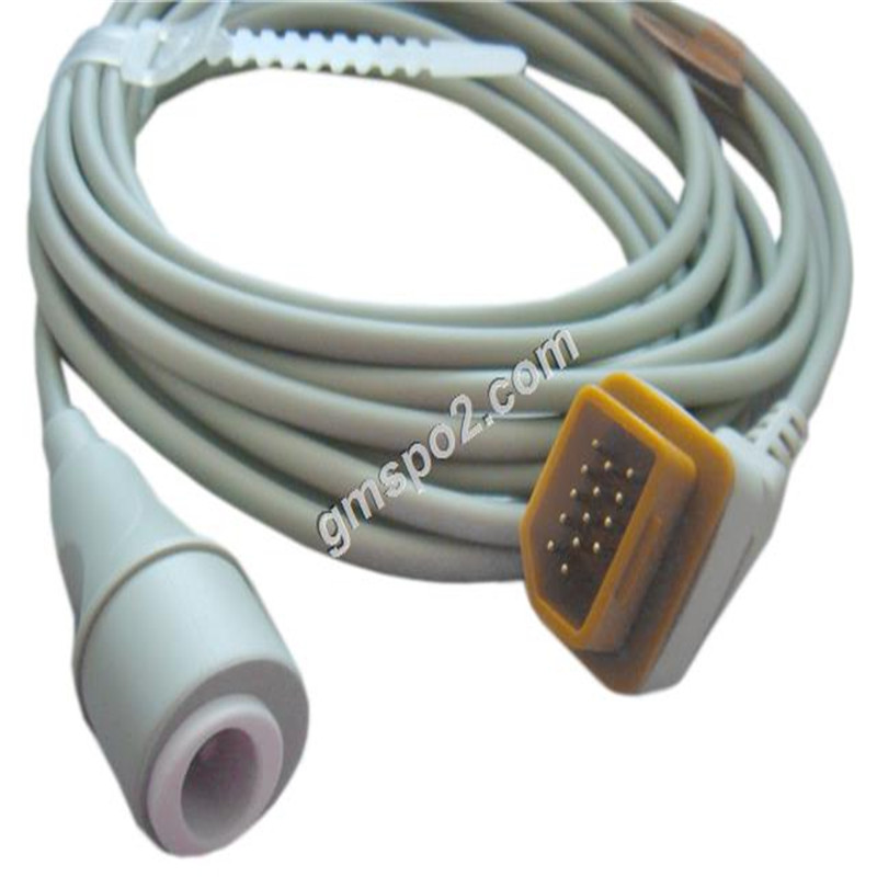 Nihon Kohden 14pin -Edward Pressure Transducer adpter IBP cable for BSM2300 Series, BSM2300 Series