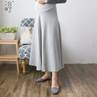 Top fashion western maternal product long pregnant skirt with custom logo