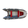 3.2m rigid Inflatable cheap Boat fo 5 person with 15HP