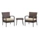 3pc Rattan Steel Outdoor Sets Patio Furniture