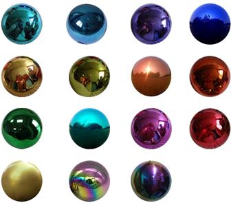 """6"""" Semi Stainless Steel Metal Sphere/Hemisphere/ Half sphere"""