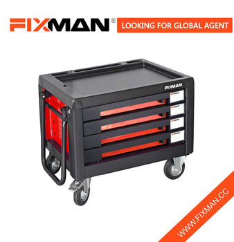 fixman 4drawer oem tool box roller cabinet on wheels portable china rolling tool boxes