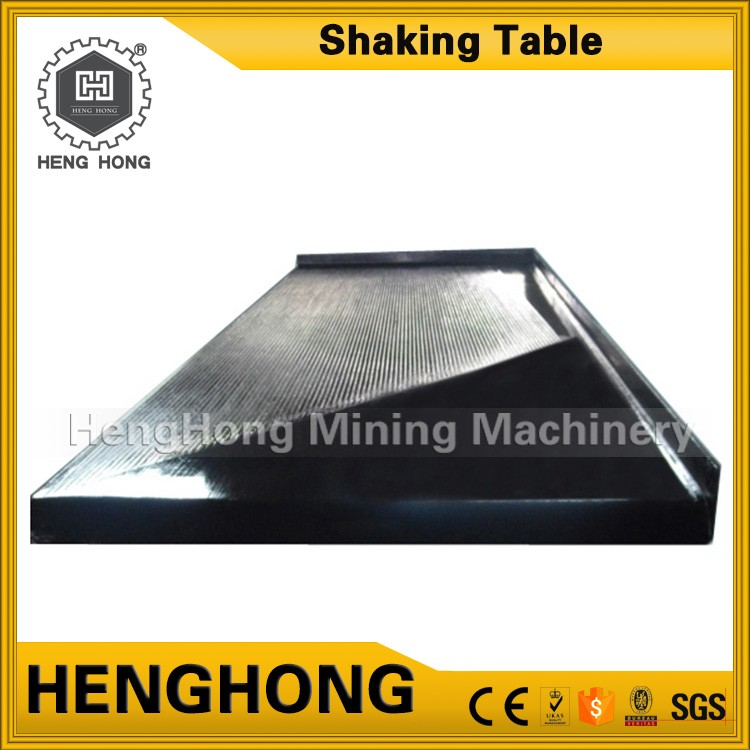 Henghong china gold mining equipment factory high recovery earthquake shake table