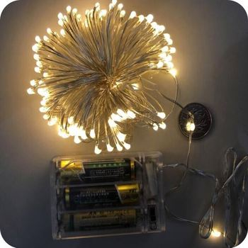 lights battery white christmas lights battery operated twinkle lights. Black Bedroom Furniture Sets. Home Design Ideas