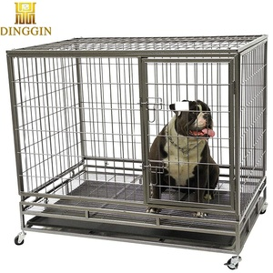 Oxygen cheap dog cages with wheels