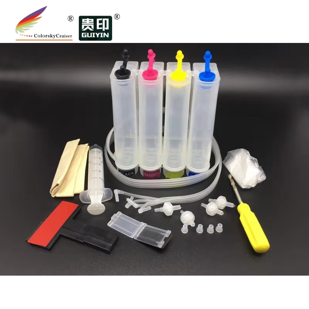 PLS CONTACT US TO REVISE PRICES!! universal 4 color CISS kit continuous ink supply system for Epson for Brother for Canon for HB