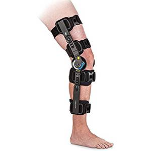 Ossur Innovator DLX + Post-Op Knee Brace-Full Foam-XLarge