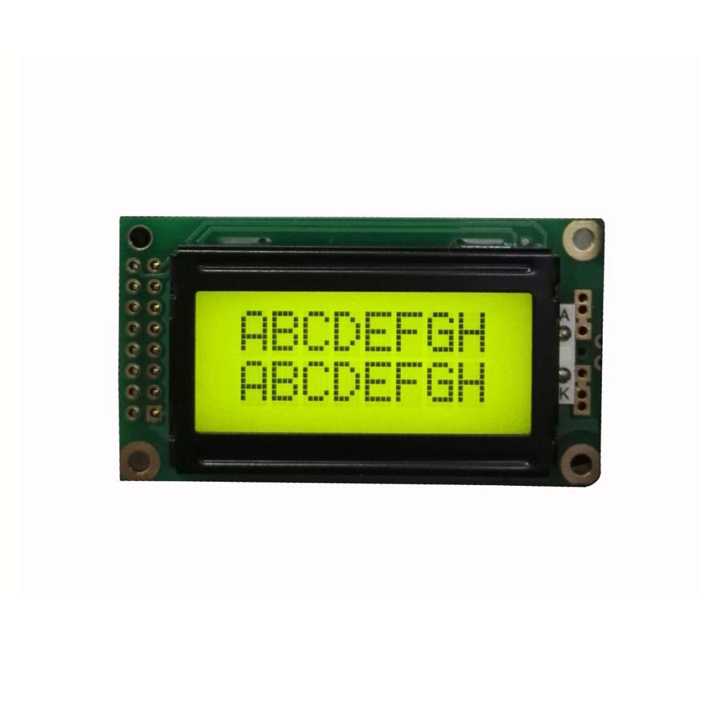 great quality China alibaba oem odm Wholesale mini 8 x 2 character lcd module