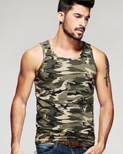 Showlands Man Hot Sale Summer Army Green Quick Dry Sport Gym Vest Top