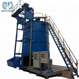 bulk blend compound fertilizer mixing tank