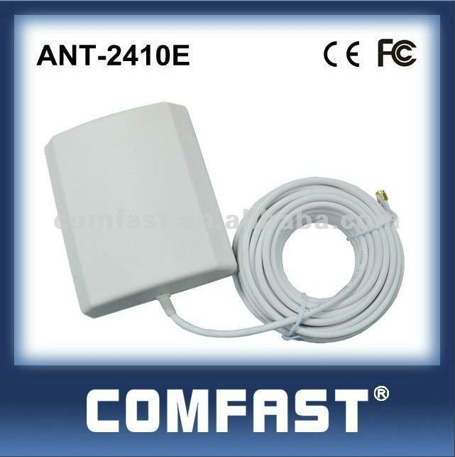 2.4GHz 10dBi indoor/outdoor wireless directional panel antenna for usb wifi adapter