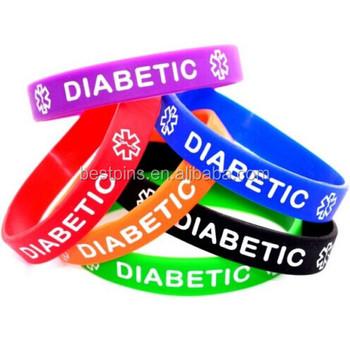 pulseras del dia mundial de la diabetes