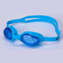 One-piece soft silica gel is specially designed for children to design cute protective swimming glasses goggles