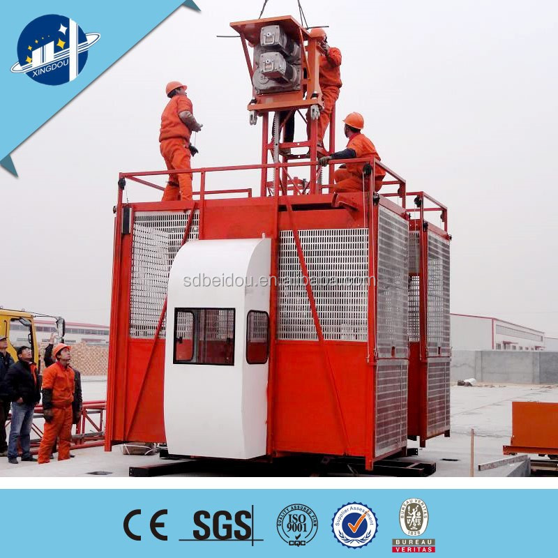 Material/passenger construction lift supplier ,building construction materials lift