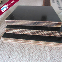 Melamine Glue Brown/Black Film Faced Plywood For Construction