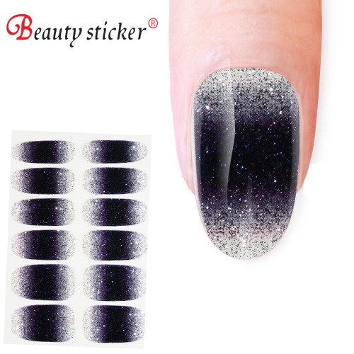 OEM/ODM 3d type nail art design printing nail wraps for customers