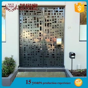 2016 New Products Custom Made Modern Laser Cut Metal Gates,Residential Gate  Designs,Beautiful Aluminum Driveway Gates - Buy Modern Laser Cut Metal