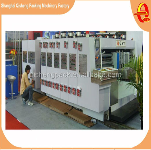 High speed Auto Die-Cut Printer Slotter Carton Machine