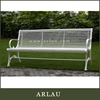 Arlau garden bench with canopy,outdoor bench bar table,new design leisure bench