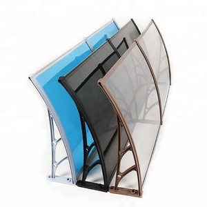 Hot sale Plastic Bracket Polycarbonate canopy Awning