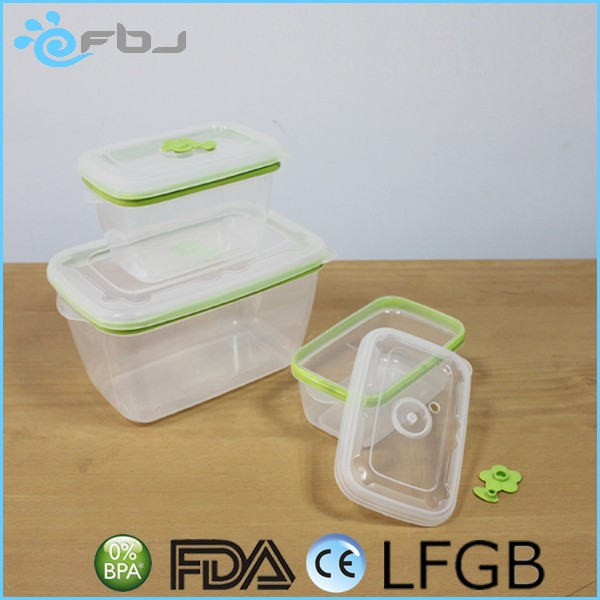 Wholesale Plastic Transparent Airtight Containers Set For Storage