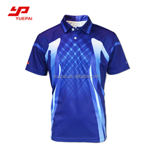 wholesale high quality cheap new design custom sports casual apparel 100% cotton sublimated men golf shirt