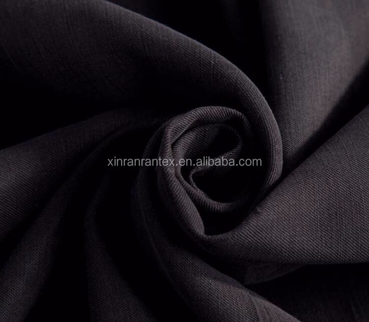 marketing sales high quality suitable price plain dyed bulk linenfabric for shirt customized accepted