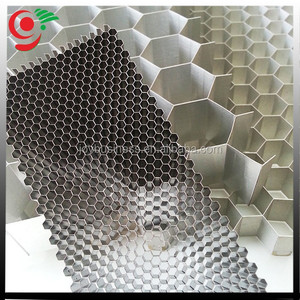 Unexpanded Aluminum Hoenycomb Core Slice Cut Into Size Honeycomb Cores