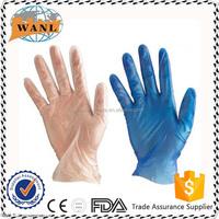 Disposable Medical Powder Free / Powdered Vinyl Gloves
