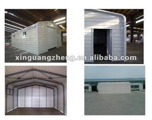 XGZ light steel structural prefabricated garage/stainless steel appliance garage